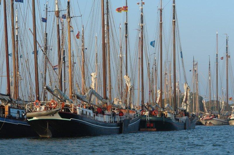 schepen in enkhuizen