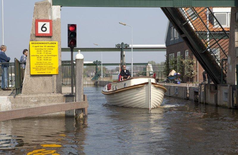 vaarbewijs sluis invaren met je motorboot