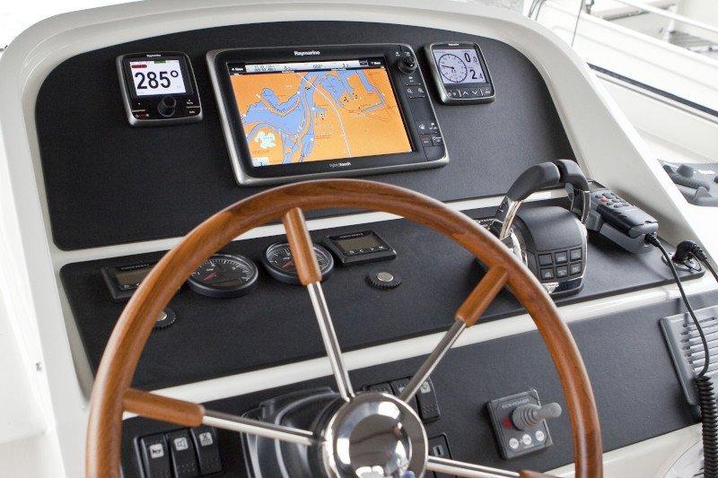 vaarbewijs sturen met je motorboot