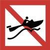 verboden snel te varen